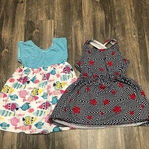 Gymboree dresses bundle 2T